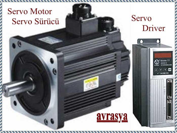 Servo Motor Servo Sürücü Driver
