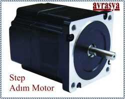 Stepmotor Step Adım stepper motor