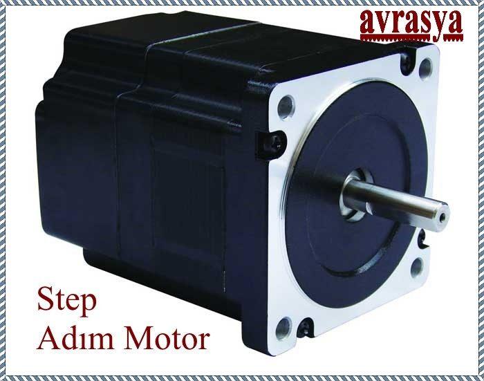 Stepmotor Step Adım stepper motor