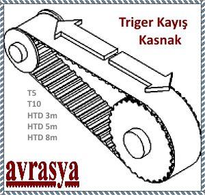 T5 T10 5m 3m 8m kasnak Triger kayış