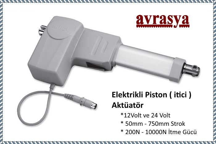 elektrikli piston aktuator